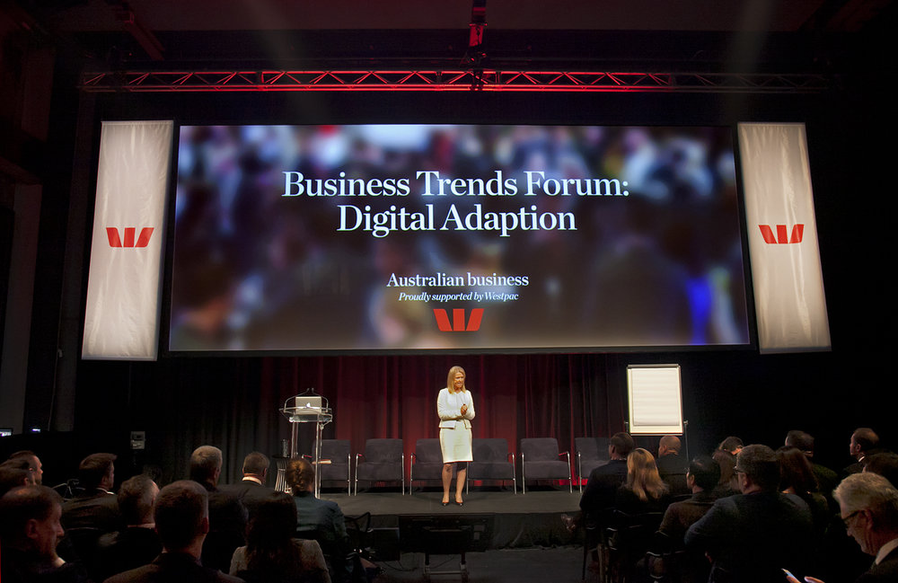 Westpac Commercial Business Trends Forum Click here for gallery