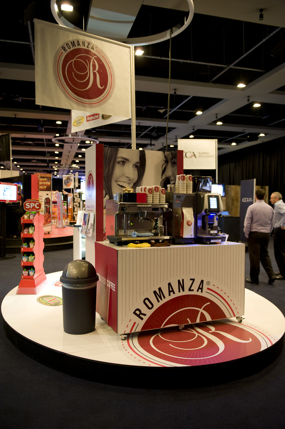 Romanza Coffee   Expo Activation