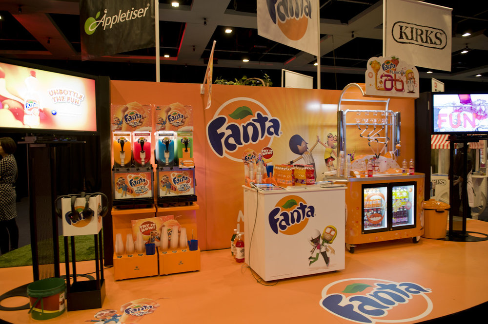 Fanta   Expo Activation