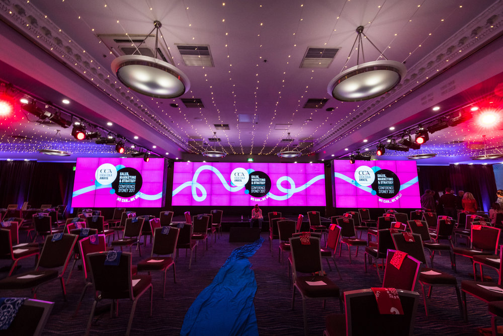 Coca-Cola Amatil   Sales & Marketing Conference    Click here for gallery