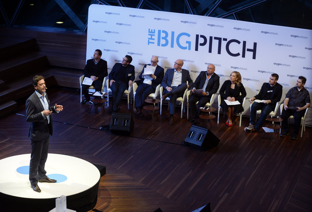 Oxygen Ventures    The Big Pitch    Click here for gallery