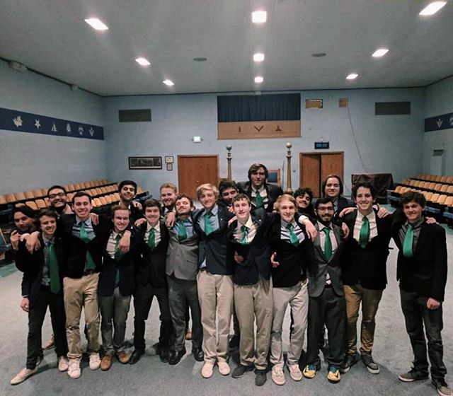 Congratulations to the newly initiated Fall 2018 Epsilon class! Welcome to brotherhood boys