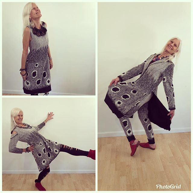 Nancy enjoying moving in Giselle Shepatin.. Available Now at:  www.giselleshepatin.com #womensclothing #handmadeclothing #localdesigners #style #fashion #ootd #potd #giselleshepatin #madeintheusa #arttowear #wearableart #madeinamerica #fashionista #womenover40 #womenover50 #springfashion #customdesign #couture #californiafashion #style #sffashion #nyfashion