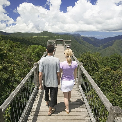 Skywalk lookout, Dorrigo National Park