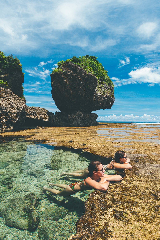 Magpupungko Reef Pools
