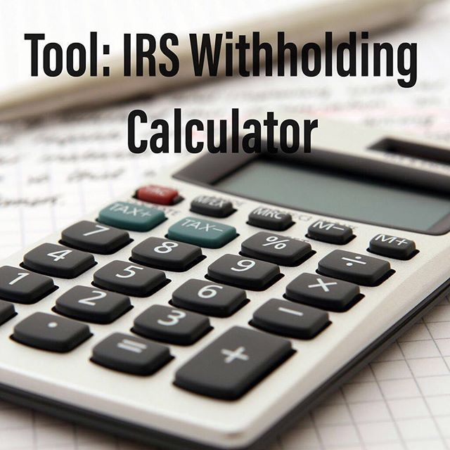 We like to get ahead of the game -- here's a tool to calculate your taxes. It's on my Facebook page and website (link in bio!)