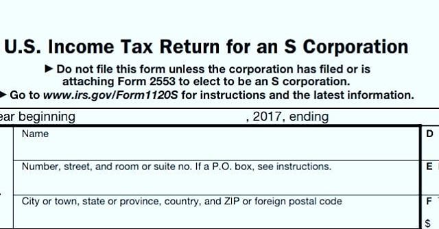 Reminder, The extended SCorp Tax Return due Sept 15.