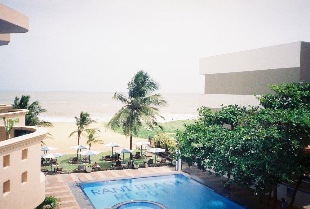 Rani Beach Hotel, Negombo, 35mm film