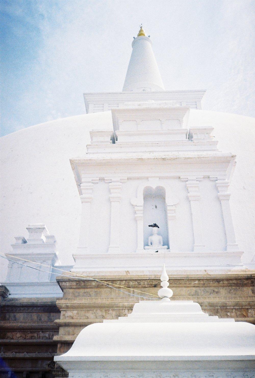Stupa at Anuradhapura, 35mm film