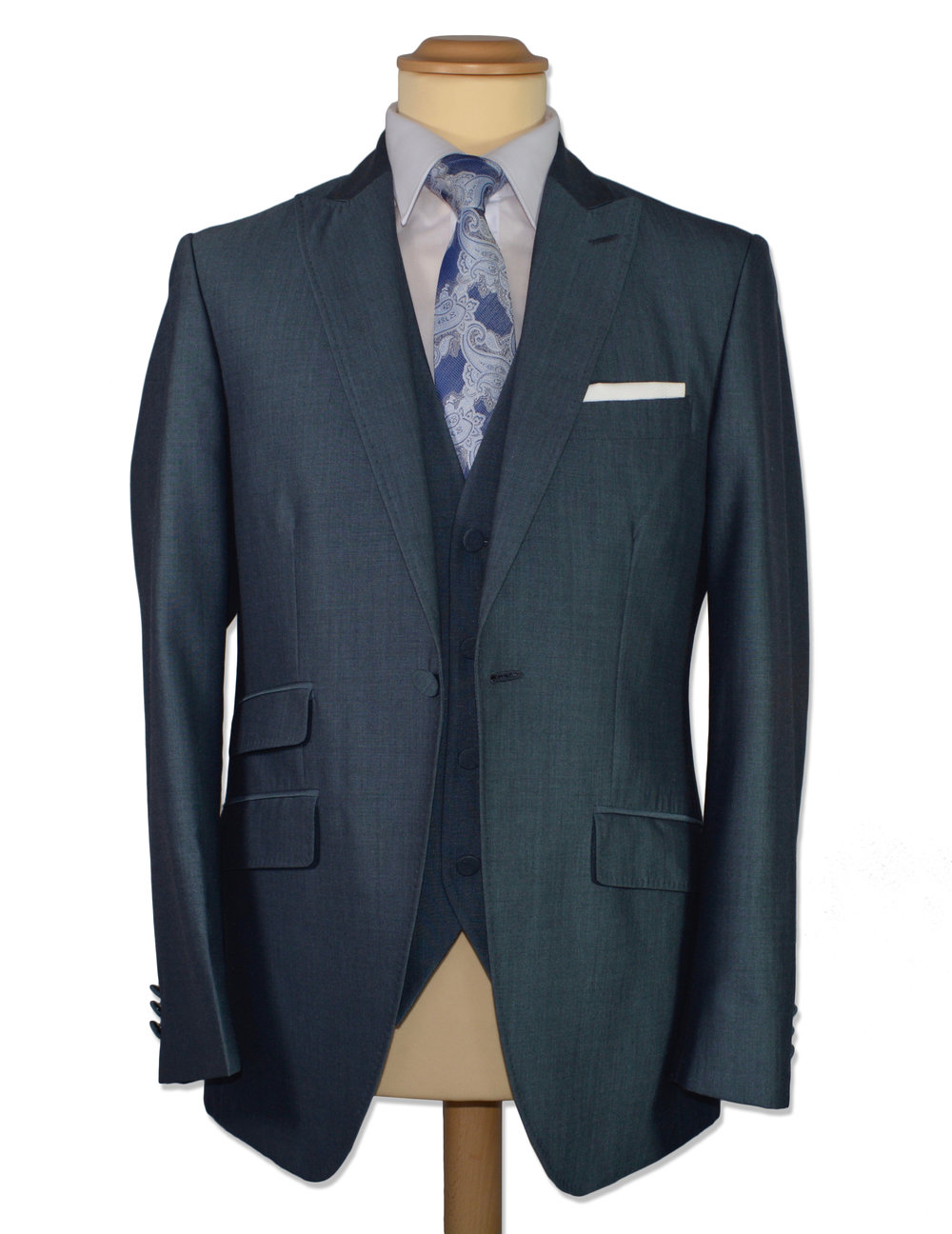 Blue Mohair Suit (Hire or Buy)