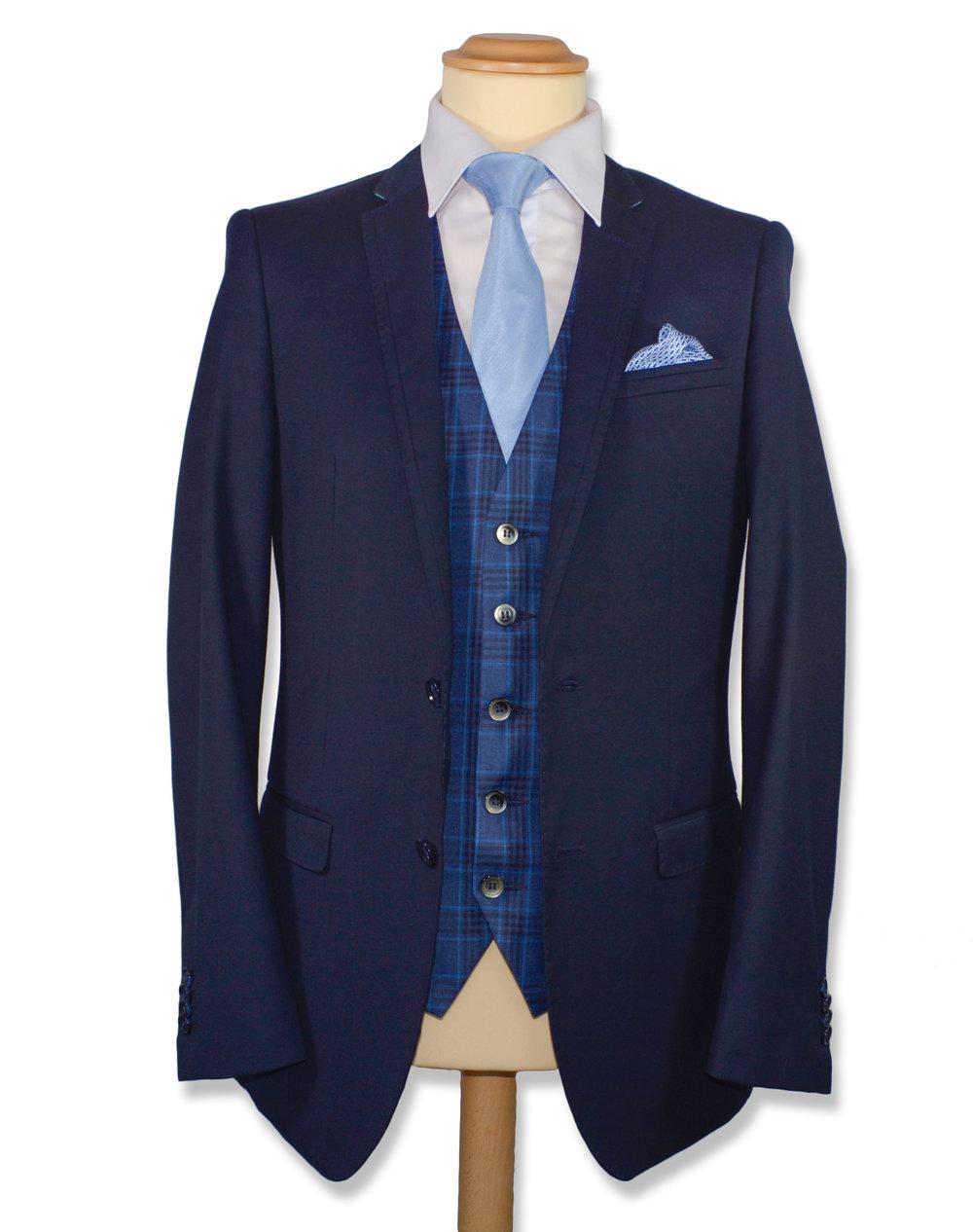 Slim Fit Navy Suit (Hire or Buy)