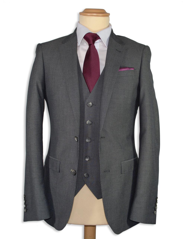 Grey Slim Fit Suit (Hire or Buy)