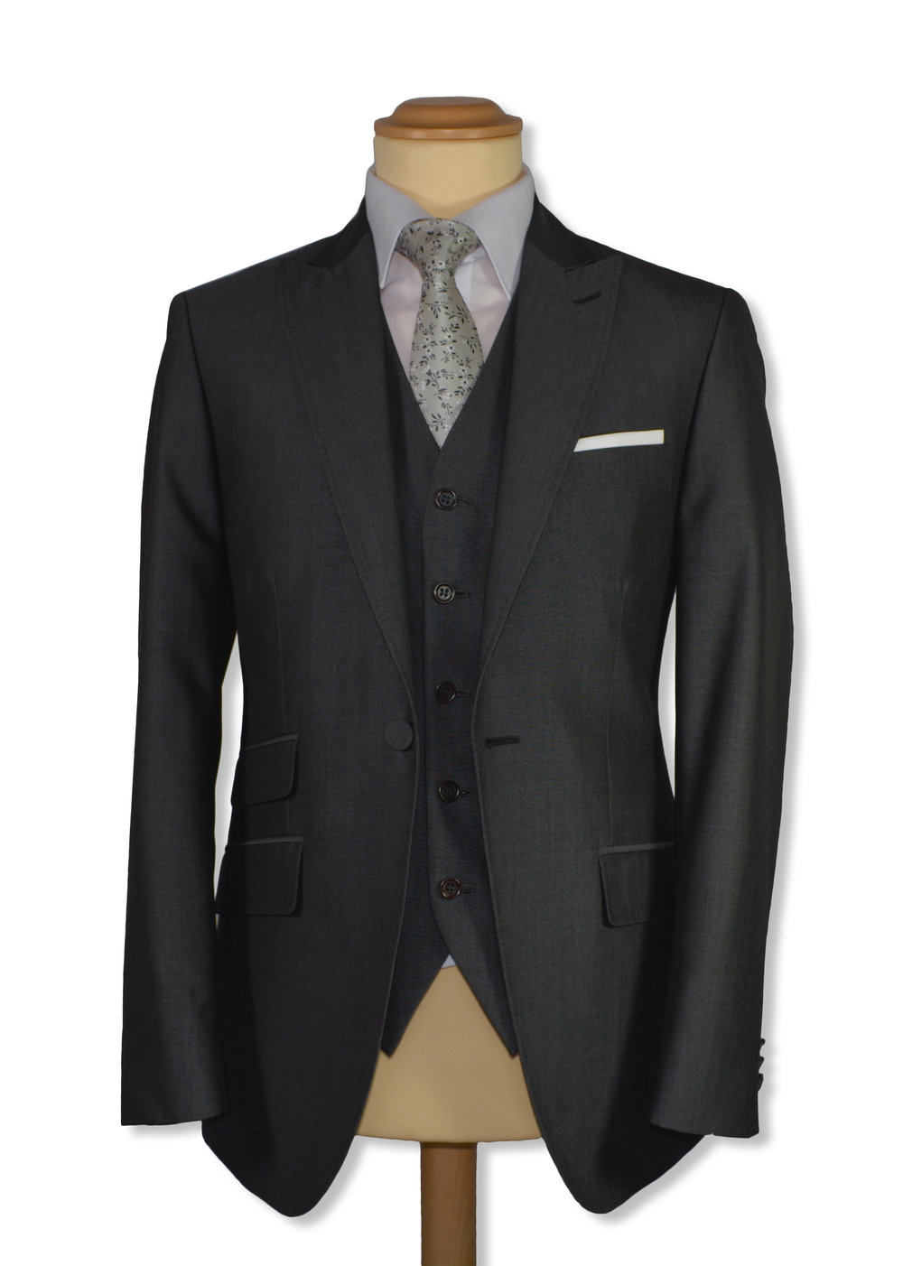 Grey Mohair Suit