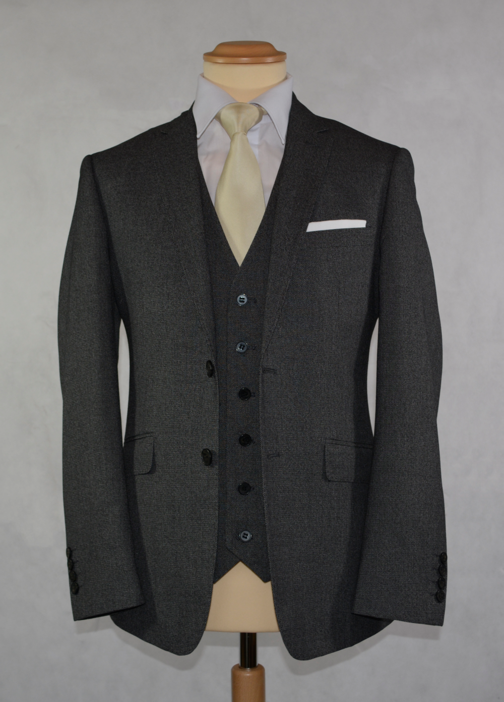 Charcoal Grey Suit (To Buy only)