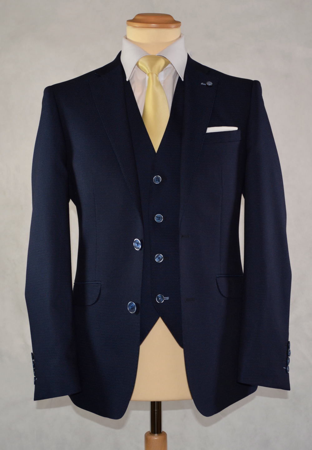 Royal Blue Suit (To Buy only)