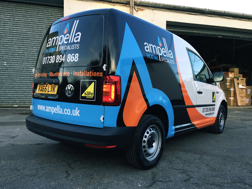 Ampella Van Graphics
