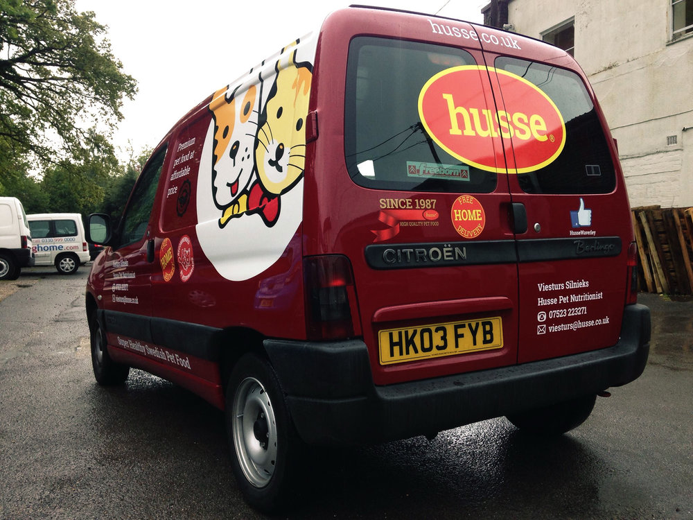 Pets Van Graphics