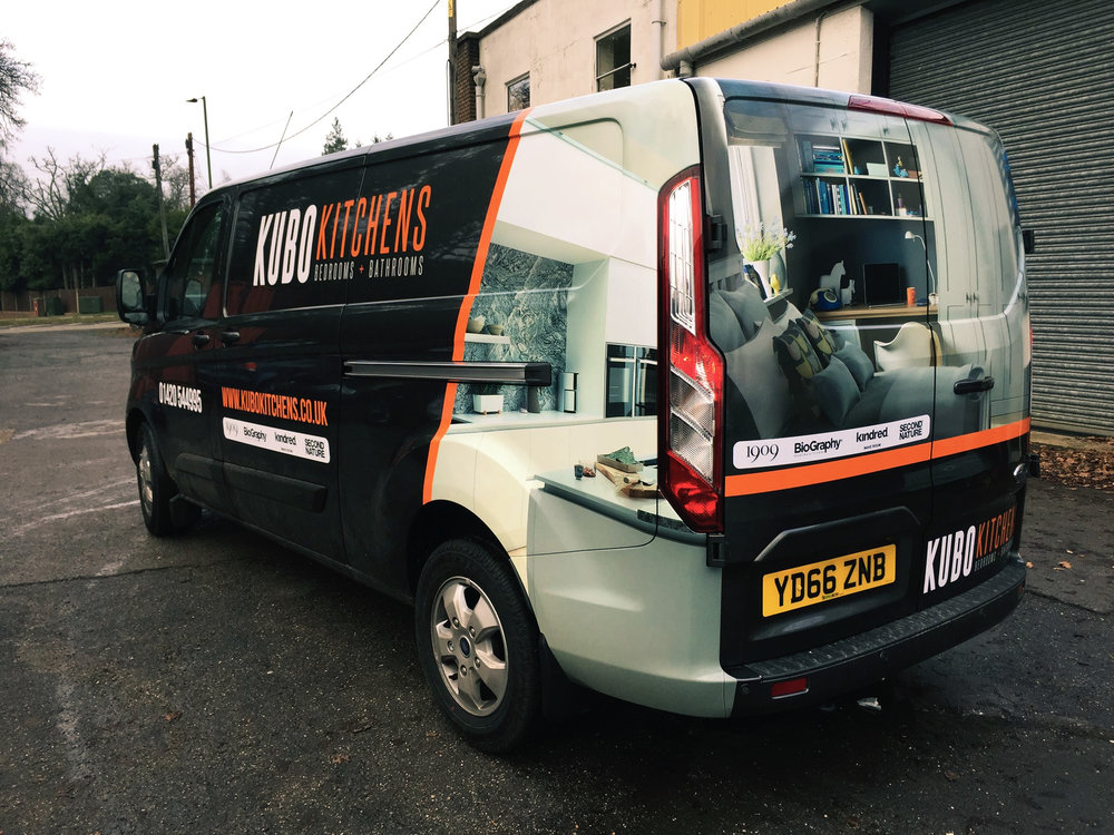 Kitchens Van Wrap