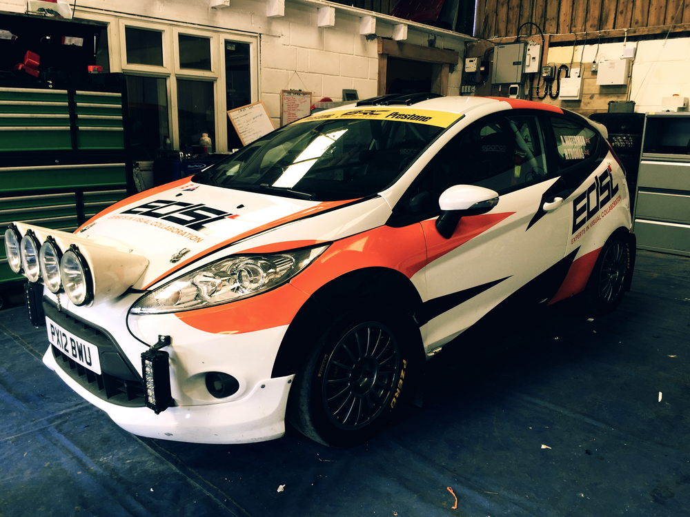 Rally Car Graphics