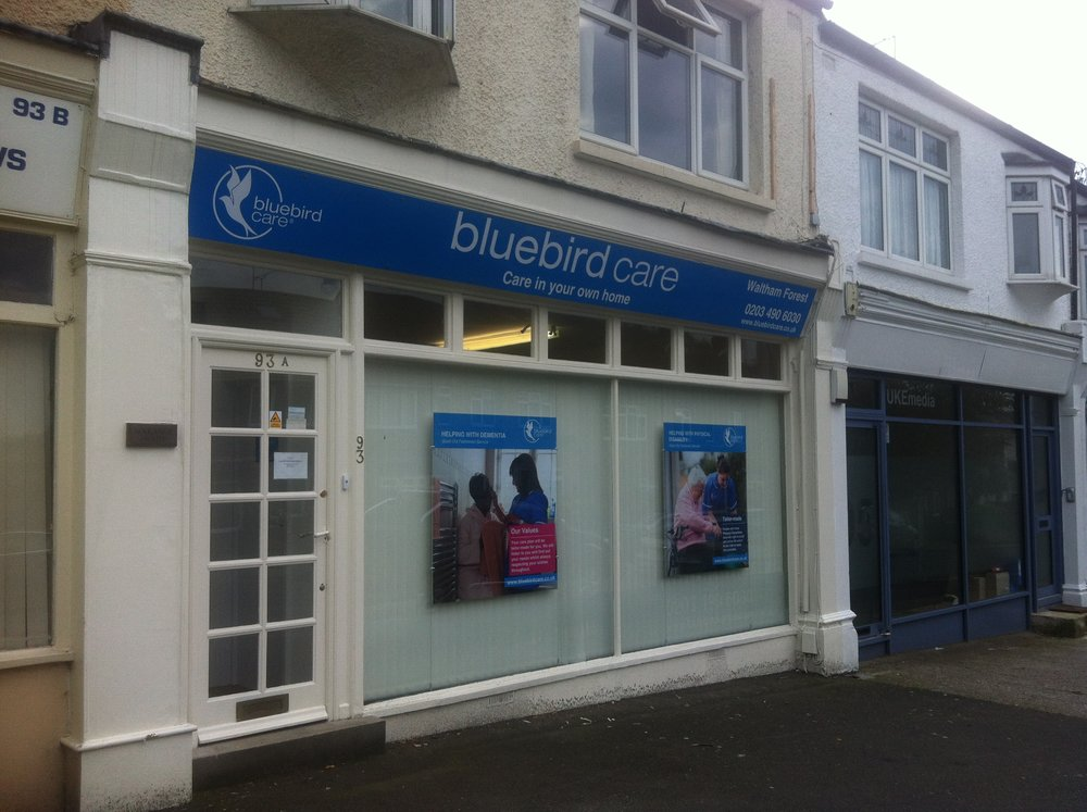 Bluebird Care Signs