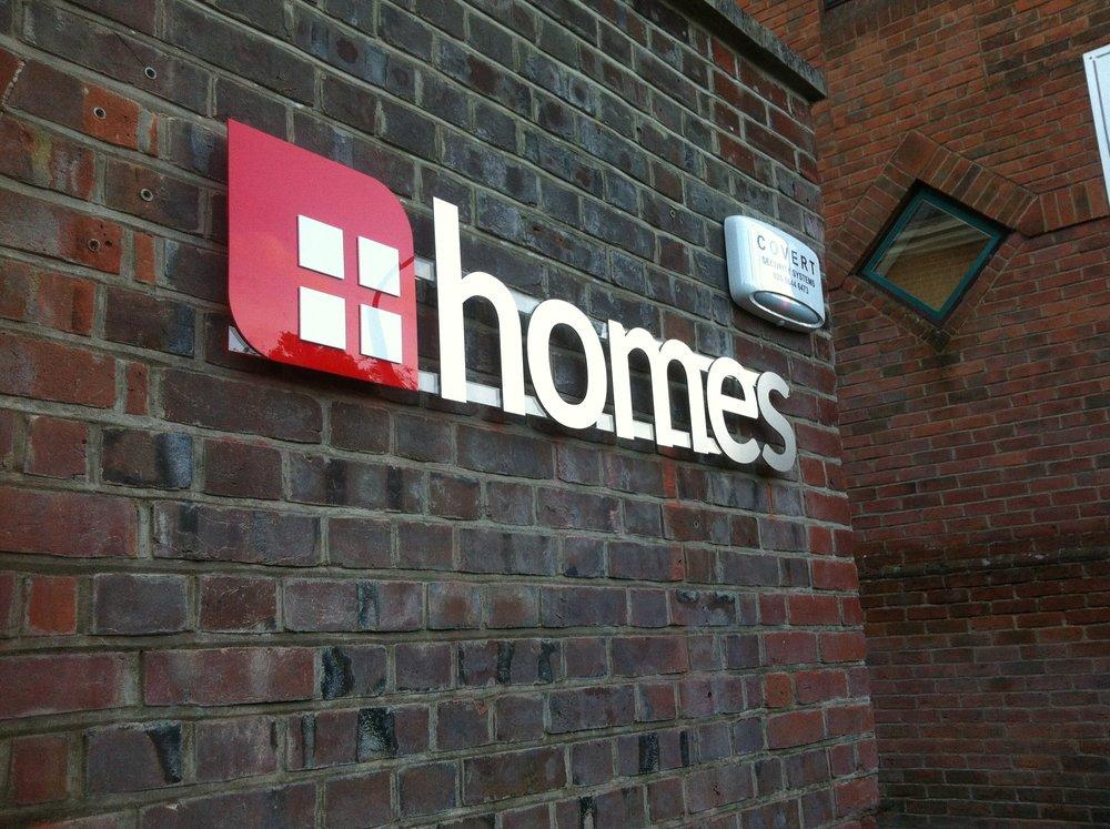 Homes Signage