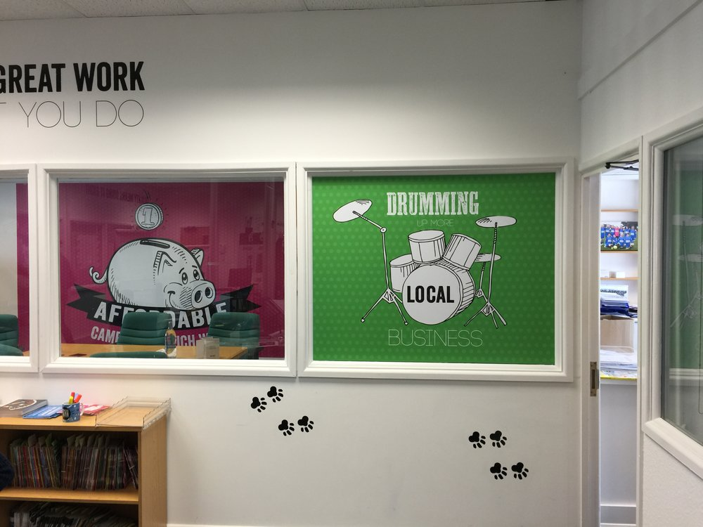 Internal Window Graphics