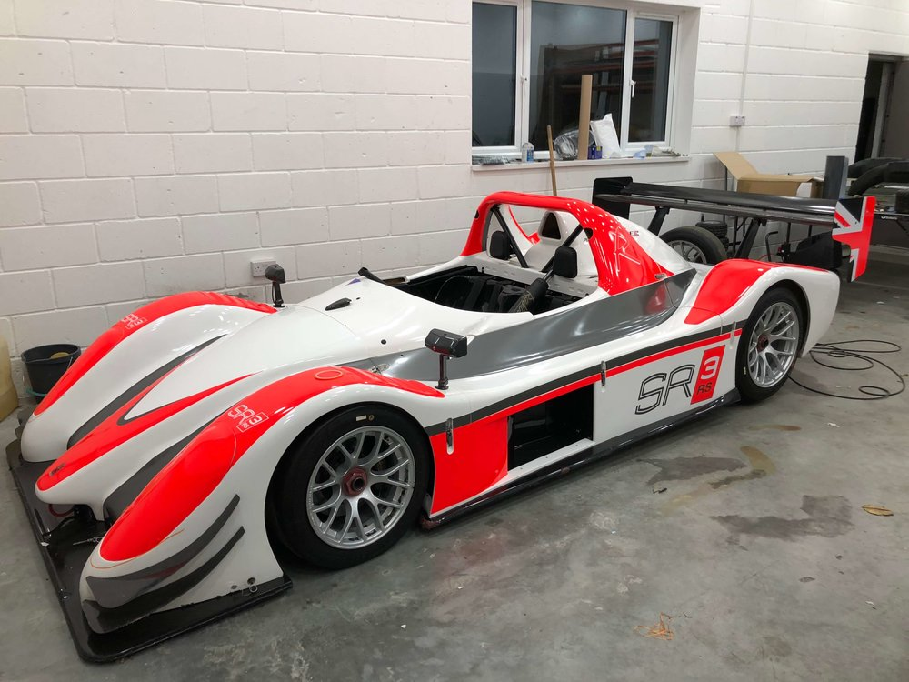 Radical SR3 Vehicle Graphics / Decals