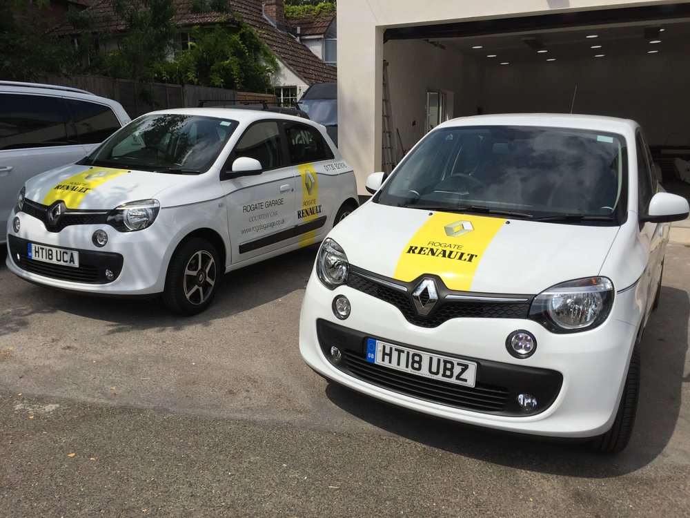 Renault Car Graphics