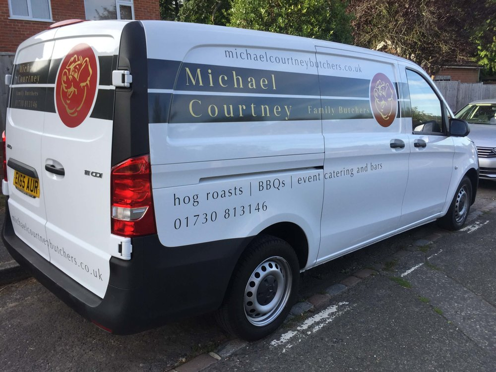 Butchers Van Graphics
