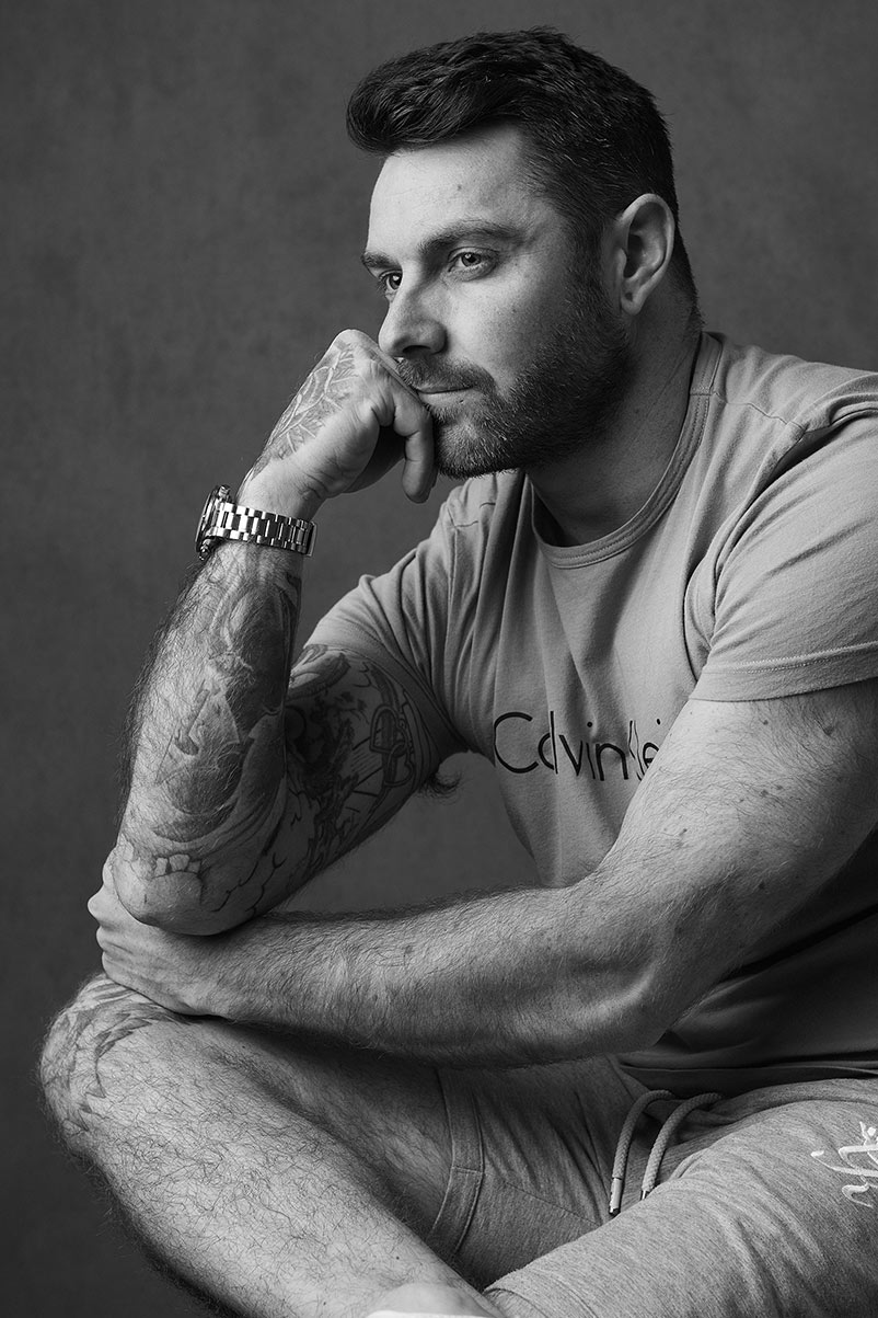 Portraiture & branding for men