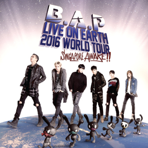B.A.P Live On Earth 2016 World Tour Singapore Awake!!