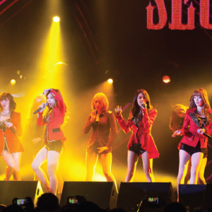 Secret Live in Singapore 2013