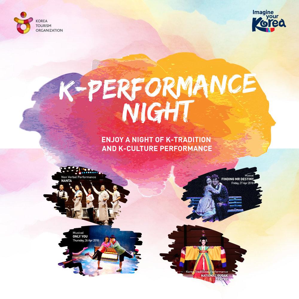 Korea Tourism Organisation K-Performance Night