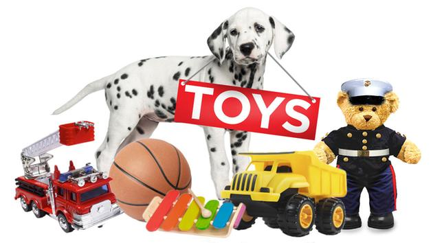 All Kids Cuts Come with a Free Toy! -