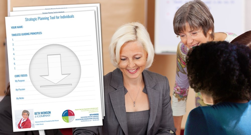 Strategic Planning Tool for Individuals -