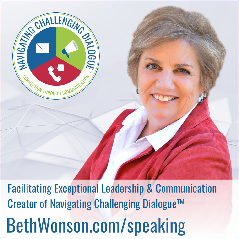 Beth Wonson, Speaker - Navigating Challenging Dialogue