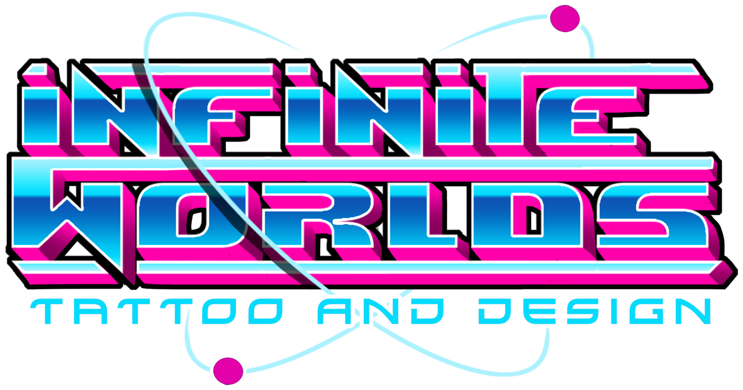 Infinite Worlds Tattoo and Design