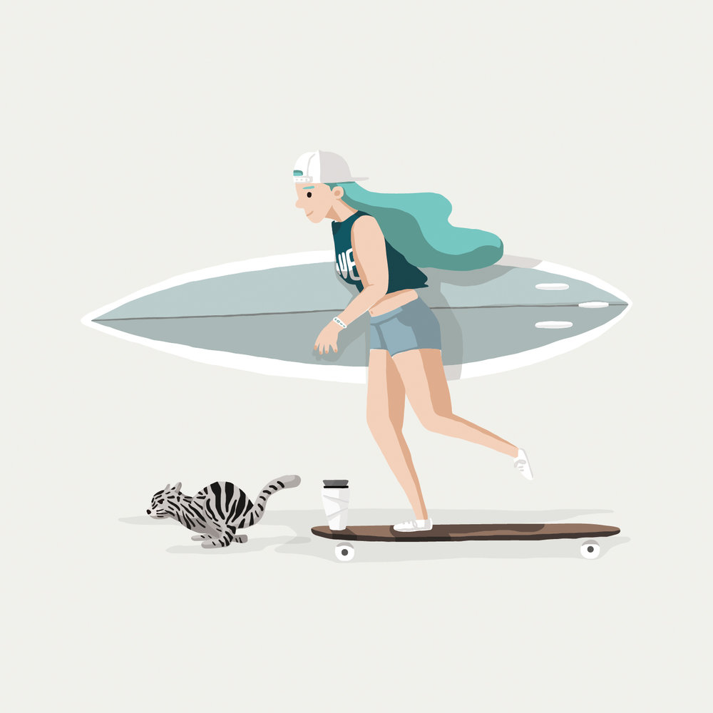 TOAST Lifestyle Vol. 8 衝浪愛好者 Surfer WAVE ,2009