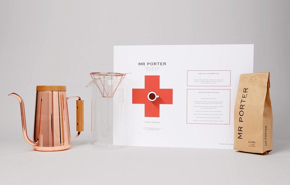 2017年底,TOAST 與英國知名紳士電商品牌 MR PORTER聯名推出Christmas Kit