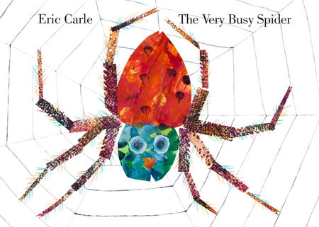 The Very Busy Spider - While The Very Hungry Caterpillar is a modern classic, it's likely someone got there before you and they already know it off by heart. Eric Carle's other books are also brilliant - here beautiful collage illustrations introduce a range of farm animals, while the persistent spider is VERY BUSY spinning a web you can feel on the page.The Very Busy Spider Board Book  £5.99  Amazon