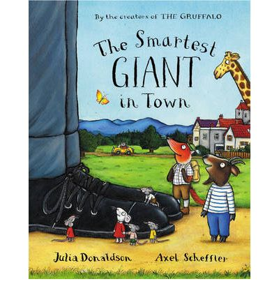 The Smartest Giant in Town - Apologies in advance as you'll be hearing this book buzzing around your head for the next five years.But on the upside, kids love Julia Donaldson's rhymes and Axel Scheffler's illustrations and the story has a great message about kindness, and helping others.The Smartest Giant in Town paperback  £4.60 Amazon