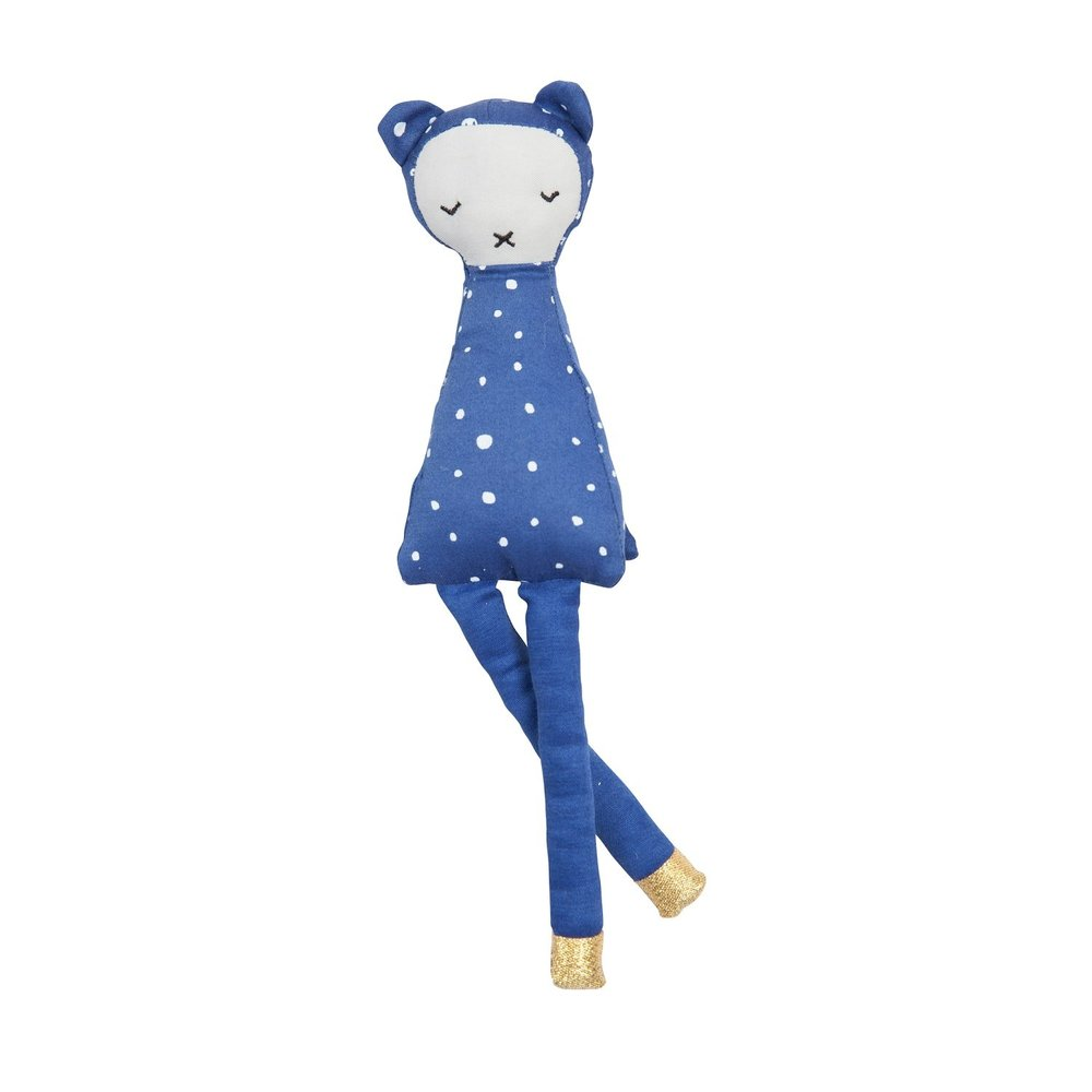 Wizard Soft Toy - Sparkle-shoed, crinkly-cape-wearing, bell-ringing wizard bear. What's not to like?Fabelab wizard toy  £17   This Modern Life