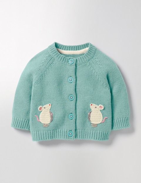 Mouse Cardigan  - Excellent colour and cute little design make this a top choice for a 2 year old. Yes, it's called a girl's cardigan, but who cares?Mice cardigan  £30  Boden