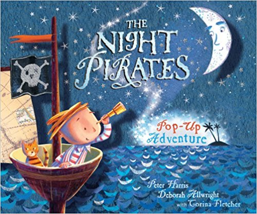The Night Pirates - Pop ups are so joyful, and at 5 you can really appreciate them (and are less likely to mangle them). Follow the adventure of the Night pirates (girls) and Tom (a boy) - not a combination you see very often unfortunately.The Night Pirates Pop up book   £3.91  Amazon