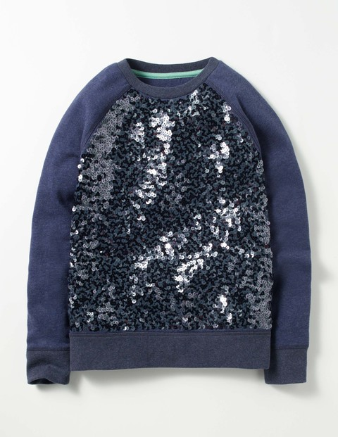 Sequin sweater - Now, we know some boys might balk at this, but we think a bit of Strictly Come Dancing glitz should be allowed for anyone. This is a brilliant Xmas jumper for a small child, and there is nothing that isn't unisex about it.Sparkly raglan sweater  £38  Boden