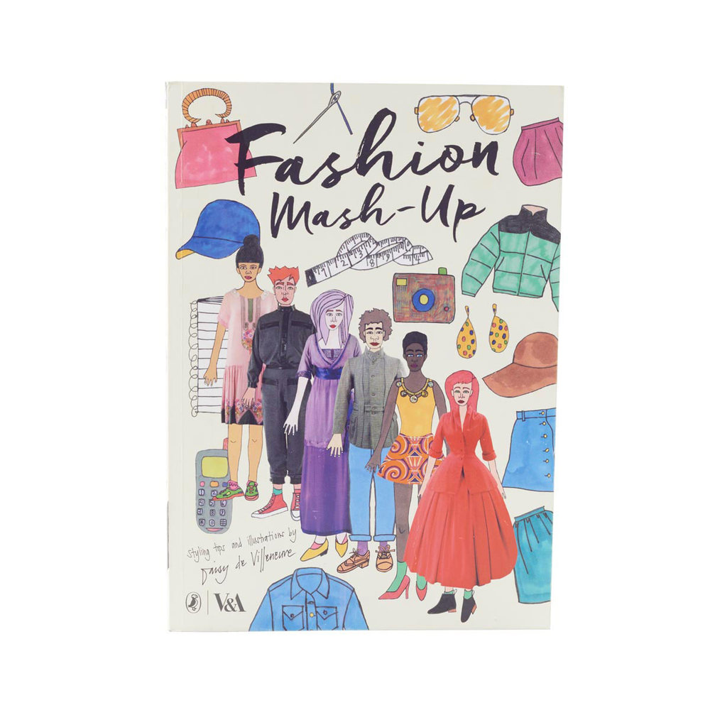 Fashion Mash-up  - Press-out costumes for dolls? Inspired by the V&A's incredible fashion collection? Includes male and female figures? HAs a range of accessories and a history of fashion? There are almost too many reasons to love this book. Surprise surprise, boys both wear and design clothes.V&A Fashion Mash up   £17.99   V&A Shop