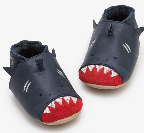 Boden baby shark shoes