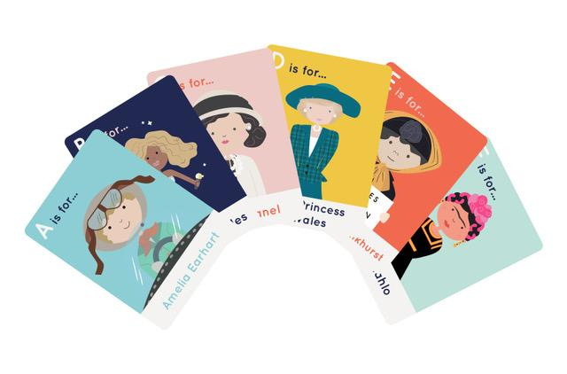 Wonder Women Flashcards - Learn your letters and about some brilliant women at the same time. Even Queen Bey's in there.£10.95Lobella Loves