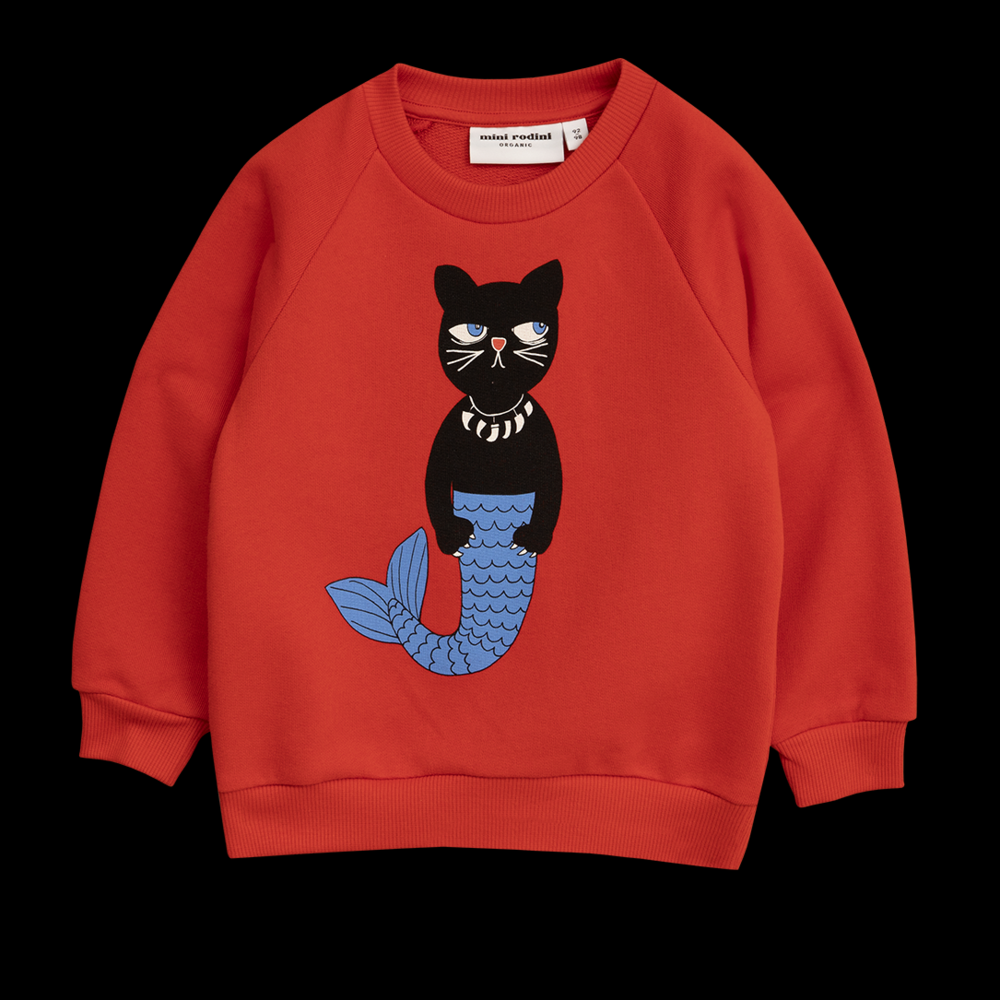 Cat Mermaid sweater - We suppose it's a mer-cat? Whatever it is, it's brilliant.£45Mini Rodini
