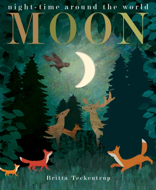 Moon - This lovely book tracks the waxing and waning of the moon and a journey around the world.£9.45Hive